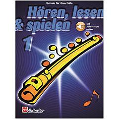 De Haske Hören,Lesen&Spielen Bd. 1 für Querflöte « Lehrbuch