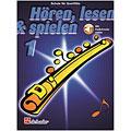 Podręcznik De Haske Hören,Lesen&Spielen Bd. 1 für Querflöte