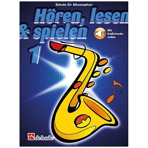 De Haske Hören,Lesen&Spielen Bd. 1 für Altsax