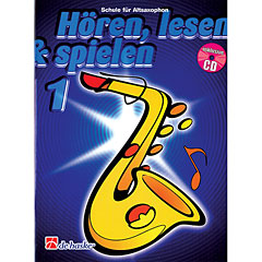 De Haske Hören,Lesen&Spielen Bd. 1 für Altsax « Manuel pédagogique