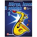 Lehrbuch De Haske Hören,Lesen&Spielen Bd. 1 für Altsax
