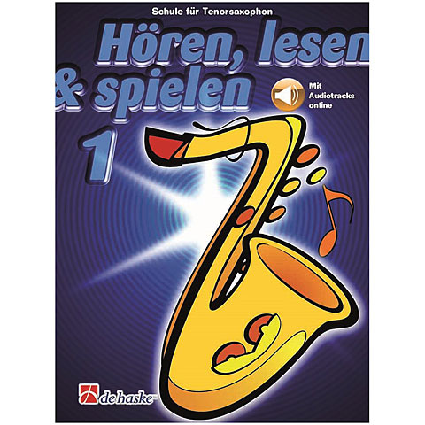 Libros didácticos De Haske Hören,Lesen&Spielen Bd. 1 für Tenorsax
