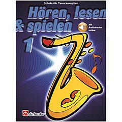 De Haske Hören,Lesen&Spielen Bd. 1 für Tenorsax « Manuel pédagogique