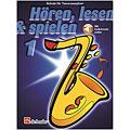 Lehrbuch De Haske Hören,Lesen&Spielen Bd. 1 für Tenorsax
