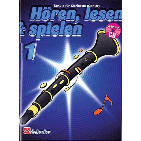 Libros didácticos De Haske Hören,Lesen&Spielen Bd. 1 für deutsche Klarinette