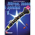 Libro di testo De Haske Hören,Lesen&Spielen Bd. 1 für deutsche Klarinette