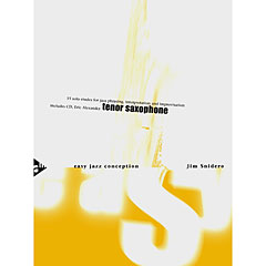 Advance Music Easy Jazz Conception for Tenor & Soprano Saxophone « Manuel pédagogique