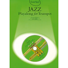 Music Sales Jazz - Playalong for Trumpet « Play-Along