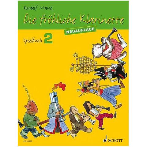 Schott Die fröhliche Klarinette Spielbuch Bd.2