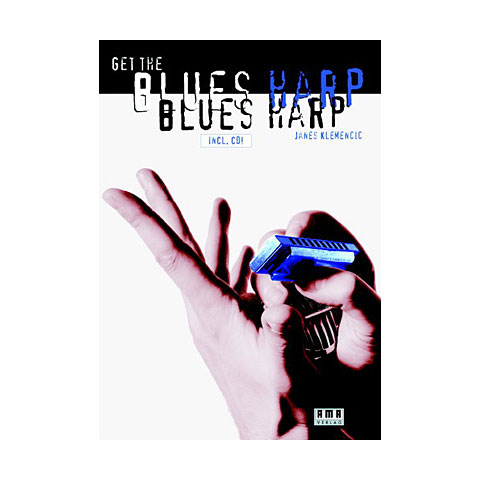 Instructional Book AMA Get The Blues Harp