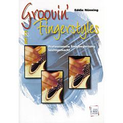 Acoustic Music Books Groovin' Fingerstyles - Professionelle Songbegleitung leichtgemacht « Manuel pédagogique