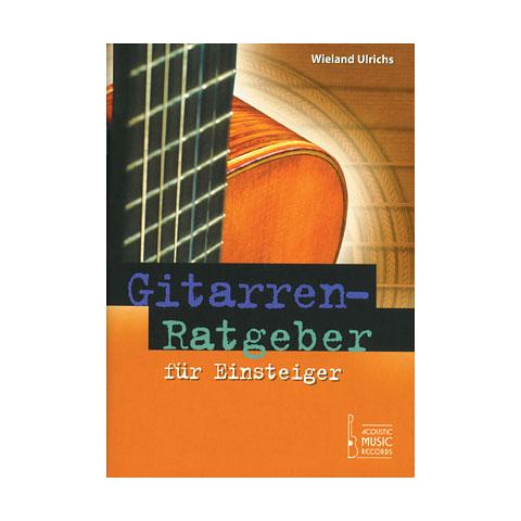 Handleidingen Acoustic Music Books Gitarrenratgeber für Einsteiger