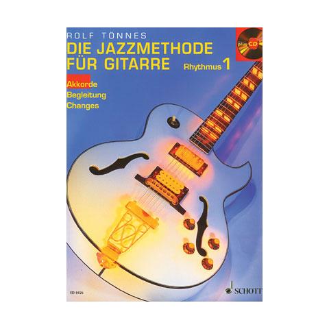 Schott Jazzmethode Gitarre Rhythmus1