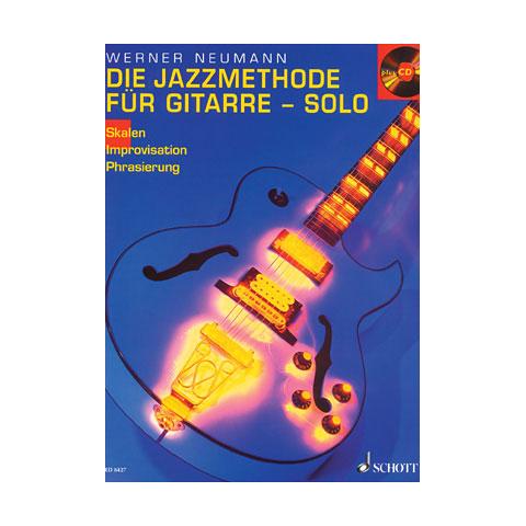 Schott Jazzmethode für Gitarre-Solo