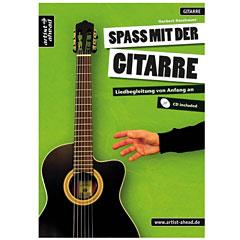 Artist Ahead Spaß mit der Gitarre - Liedbegleitung von Anfang an « Manuel pédagogique