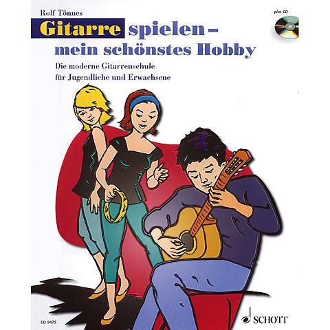 Manuel pédagogique Schott Gitarrespielen - mein schönstes Hobby Bd.1