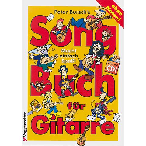Notenbuch Voggenreiter Songbuch für Gitarre 1