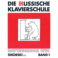 Sikorski Die Russische Klavierschule Bd.1 « Manuel pédagogique