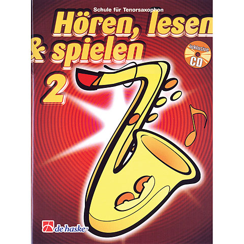De Haske Hören,Lesen&Spielen Bd. 2 für Tenorsax