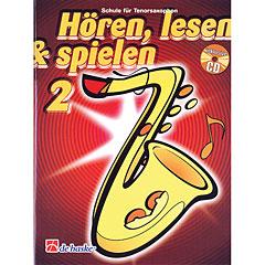 De Haske Hören,Lesen&Spielen Bd. 2 für Tenorsax « Lehrbuch