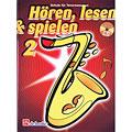 Lehrbuch De Haske Hören,Lesen&Spielen Bd. 2 für Tenorsax