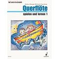 Libros didácticos Schott Querflöte spielen und lernen 1