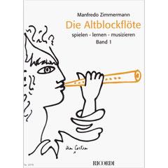 Ricordi Die Altblockflöte Bd.1 « Lehrbuch