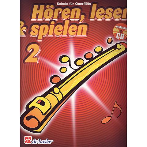 De Haske Hören,Lesen&Spielen Bd. 2 für Querflöte