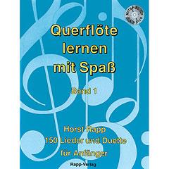 Rapp Querflöte lernen mit Spaß Bd.1 « Lehrbuch