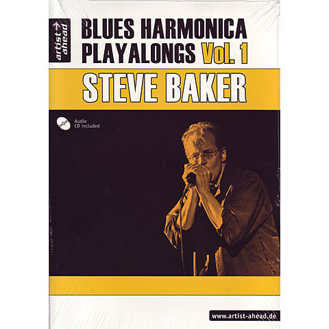Play-Along Artist Ahead Blues Harmonica Playalongs Vol.1