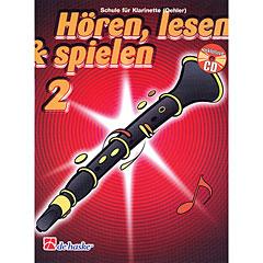 De Haske Hören,Lesen&Spielen Bd. 2 für deutsche Klarinette « Manuel pédagogique