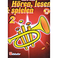 Leerboek De Haske Hören,Lesen&Spielen Bd. 2 für Trompete