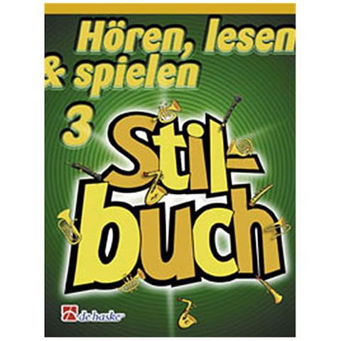 Notenbuch De Haske Hören, lesen & spielen 3 - Stilbuch für Klarinette