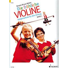 Schott Die fröhliche Violine Bd. 1 « Lehrbuch