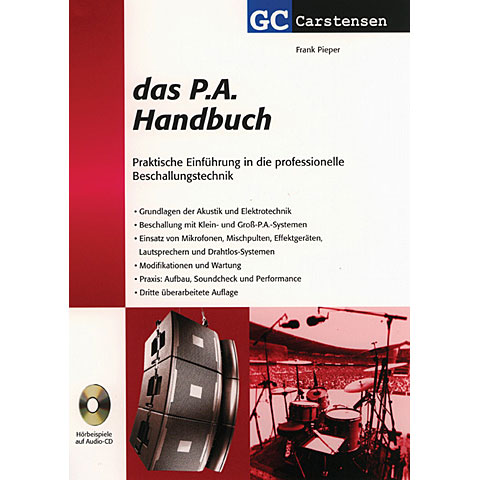Technical Book Carstensen Das PA Handbuch