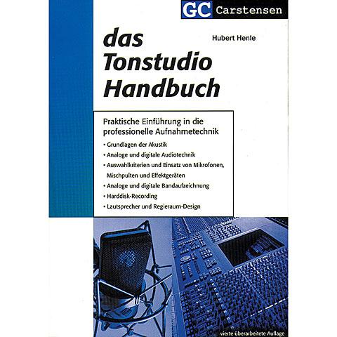 Livre technique Carstensen Das Tonstudio Handbuch
