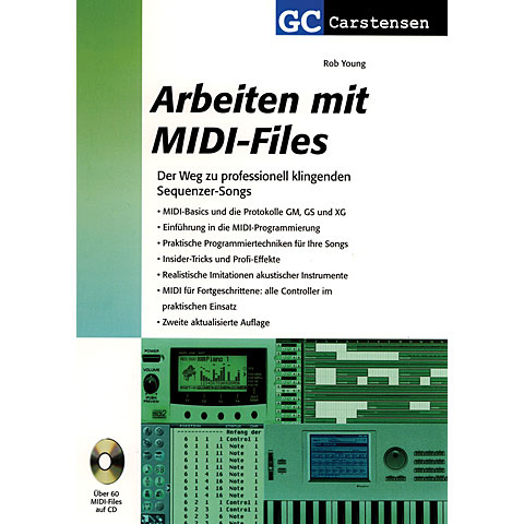 Carstensen Arbeiten mit Midi Files