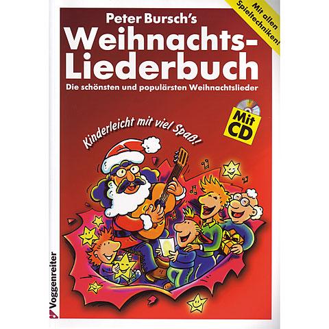 Libro de partituras Voggenreiter Peter Bursch's Weihnachts-Liederbuch