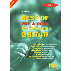 Dux Best of Pop & Rock for Classical Guitar Vol.1 « Notenbuch