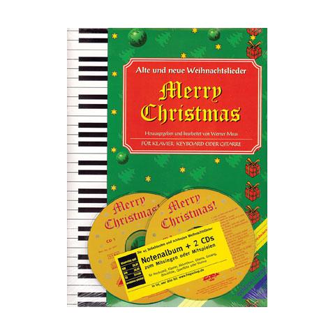 Hage Merry Christmas für Klavier/Keyboard/Gitarre + 2 CDs