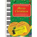 Recueil de morceaux Hage Merry Christmas für Klavier/Keyboard/Gitarre + 2 CDs