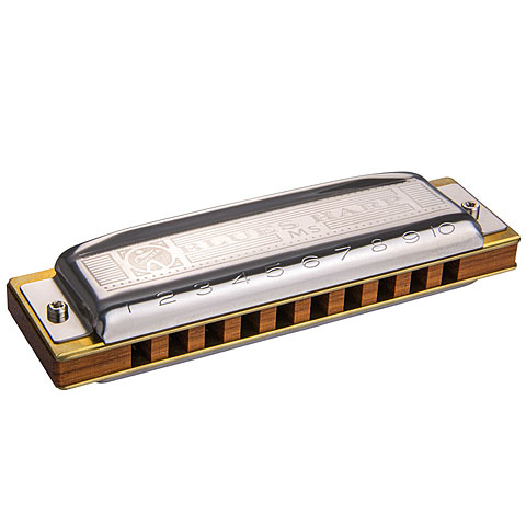Armónica mod. Richter Hohner Blues Harp MS B