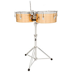 Latin Percussion Tito Puente LP257-BZ Bronze Timbales « Timbales