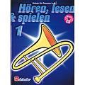 De Haske Hören,Lesen&Spielen Bd. 1 für Posaune in B  «  Lehrbuch