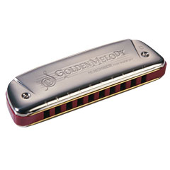 Hohner Golden Melody Bb « Armónica mod. Richter