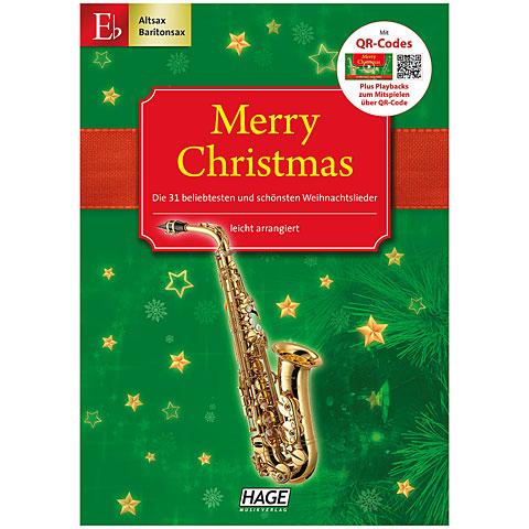 Hage Merry Christmas für Eb-Instrumente