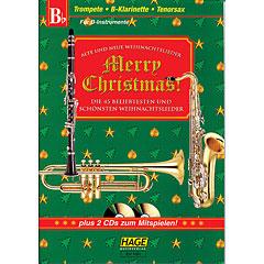 Hage Merry Christmas für B-Instrumente « Notenbuch