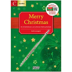 Hage Merry Christmas C-Instrumente « Notenbuch