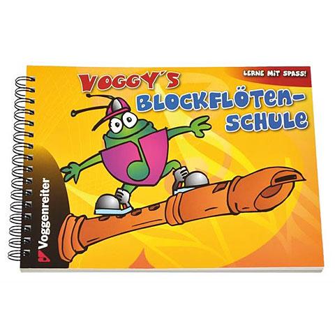 Livre pour enfant Voggenreiter Voggys Blockflöten-Schule