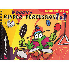 Voggenreiter Voggy´s Kinderpercussion 1x1 « Instructional Book